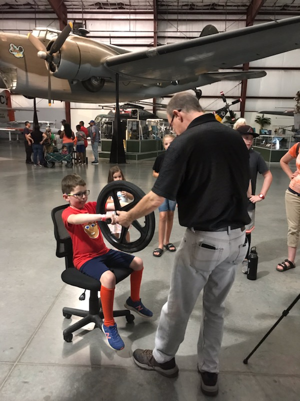 PIMA Night Wings July 2019 Gyroscopic Chair